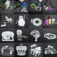 Metal Cutting Dies Stencil Scrapbook Paper Cards Embossing Craft DIY Die Cut