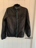 tommy hilfiger jacket Small S Size In VG Cond. Black 4 Front Pockets Zipping Ok