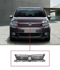 NEW VW TOURAN CADDY 2010-2015 FRONT GRILLE BLACK WITH CHROME MOULDING