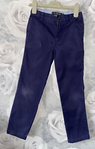 Boys Age 7 (6-7 Years) Mini Boden Navy Chino Trousers