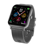 Smartwatch F22 Bluetooth Uhr Curved IPS Display IP68 Wasserdicht iOS LG Android