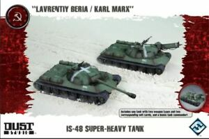 * Dust Tactics Expansion SSU IS-48 Tank Super Heavy Tank