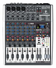 Behringer XENYX X1204USB Professional USB Mixer with Effects