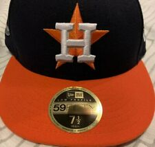 Houston Astros New Era 7 1/2 SXSW South By Southwest Hat Cap Blue Orange 2018