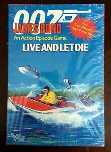 Live and Let Die Action Episode Game (sealed) James Bond 007 Victory Games