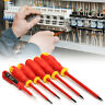 6Pcs Insulated Electrician Screwdriver Set 1000V Electrical Hand Tool Kit !
