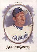 2017 Topps Allen and Ginter Baseball Card Pick 252-350