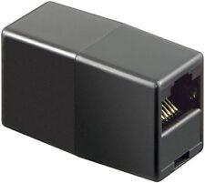 ISDN Adapter RJ45 Kupplung 8P8C schwarz