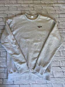 Reebok Grey Sweatshirt Mens Small