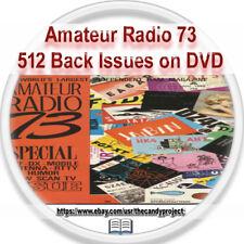 73 Magazine Ham Radio Today amateur radio Ham Radio Antenna Wire 512 PDFs 4 DVDs