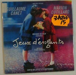 B.O.F. JEUX D'ENFANTS - ZAZIE : LA VIE EN ROSE (EDIT) ♦ CD SINGLE PROMO ♦