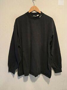 VINTAGE 90's Nike Mini Swoosh Long Sleeve Turtleneck T-Shirt Size XL Made in USA