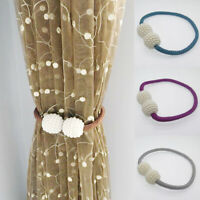 Wall Magnetic Curtain Strap Buckle Holder Pearl Beads Tiebacks Tie Backs Clips