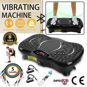 Vibration Plate Crazy Fit Bluetooth Music Massage Oscillating Fitness Body Shake