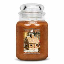 Goose Creek Large 2 Wick Candle Jar - Gingerbread Lane *CHRISTMAS FRAGRANCE*
