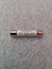 1000 V 500 mA 500 mA - 6.3 x 32 mm Blanc Céramique Fusible pour multimètre