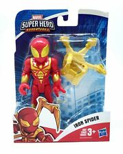 MARVEL SUPER HERO ADVENTURES - LARGE 5 INCH IRON SPIDER FIGURE ARTICLUATED