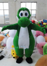 Super Mario Yoshi Dinosaur Mascot Costume Character Cosplay Dress Adults Outfits