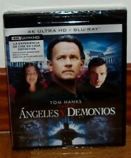 ANGELES Y DEMONIOS-ANGELS & DEMONS-BLU-RAY 4K ULTRA HD+BLU-RAY-NUEVO-SEALED-NEW