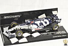 1:43 Minichamps 417200826 Scuderia Alpha Tauri, Italy GP 2020, Daniil Kvyat #26