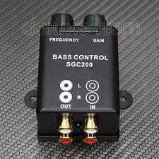 Car Home RCA Adjust Line Level Volume Amplifier Subwoofer Equalizer Crossover