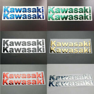 Motorcycle Fuel Tank 3D Emblem Decal For Kawasaki ZX-14R Badge Sticker 14.5/20CM