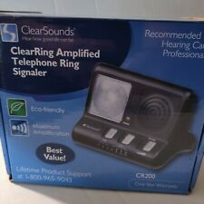 Clearsounds CR200 Clear Ring Loud Amplifier Ring Signaler System NEW OPEN BOX
