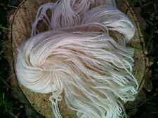 500 g Natural WHITE Pure Wool Double Spun Chunky Aran Weight Skeins