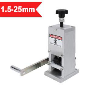 Manuell Kabelschälmaschine 25mm Kabel Abisoliermaschine Abisoliergerät Kupfer PR