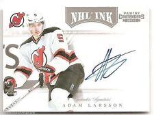 11/12 PANINI CONTENDERS NHL INK AUTOGRAPH Adam Larsson #34