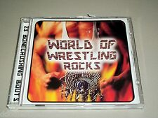 WORLD of WRESTLING ROCKS Music CD 23-Songs Welcome to the Jungle Undertaker +++