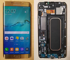 Original Touch Screen LCD Display for Samsung Galaxy S6 Edge+ Plus G928F Gold