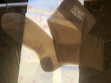 3 Pair Vintage Amy Beth 100% Nylon Seamless Stockings Rht New Old Stock Beige