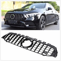 Chrome GTR Style Front Grille Grill for 2019 Mercedes W177 A Class A200 A250