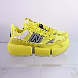 Size 7 Men's / 8.5 Women's New Balance Vision Racer Jaden Smith Sneakers Yellow
