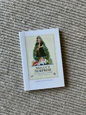 """American Girl Courtney Molly's Surprise mini book A Christmas Story 18"""" doll NEW"""
