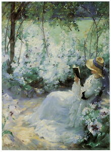 """Frank Bramley """"Delicious Solitude"""" HQ CANVAS or PAPER PRINT up to 24x36"""