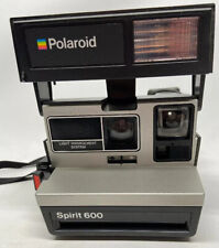 TESTED Working Polaroid Land Spirit 600 LMS Vintage Instant Camera With Flash