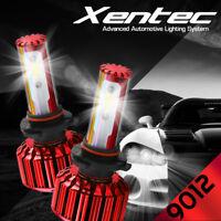 XENTEC LED HID Headlight Conversion kit 9012 6000K for 2014-2016 Fiat 500L