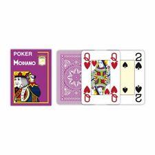 Modiano Poker Jeu de Cartes 100% Plastique Violet