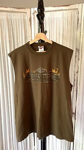 Harley Davidson Schoch Stroudsburg, PA Sleeveless T-Shirt 2x Legends Never Die