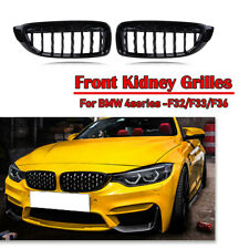LH+RH Front Kidney Diamond Grilles Grill For F32 F33 F36 BMW 4 Series 428i 430