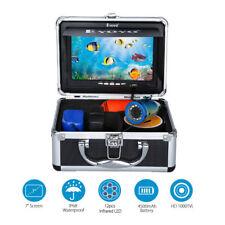 "Eyoyo IR 30m 7"" LCD Infrared Fishing Camera Fish Finder Sunvisor+ Control Lights"