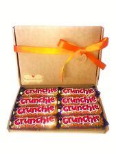 Chocolate Gift Hamper Cadbury Box Christmas Birthday Personalised Crunchie
