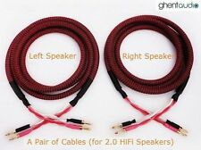 S01 (8m 26ft) --- Canare 4S12F Star Quad Hi-End 13awg Speaker Cable (2.8mm²x4)