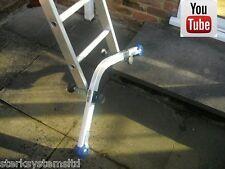 SCALETTA Leveler per irregolare & Soft Ground | diagramma Ladder Stabilizzatore | Scaletta Sicurezza GAMBE