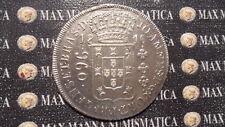 BRASILE BRAZIL 960 REIS 1816 R SILVER ARGENTO