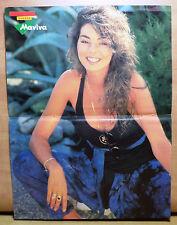 VHTF SANDRA CRETU POSTER BY GREEK MAGAZINE ''MANINA'' '90'S