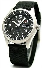 Seiko SNZG15K1 Automatic Wrist Watches for Men - Black