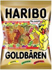 Original Haribo GERMAN GOLDBAREN- DIRECT FROM GERMANY      6 BAGS!